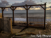 Hemsby Beach Storm Tide Surge 2013