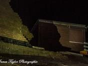 Hemsby Beach 2013 Storm Surge Tide