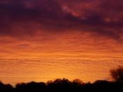 Sunrise over  Aldborough