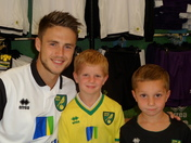 Wolfswinkel meeting fans in Chapelfield