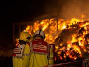 Hevingham Farm Fire