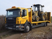 Scania Beavertail Lorry