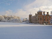 Norfolk is..........Blickling in the snow