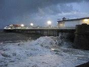 Cromer Pier Storm