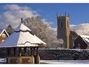 Snow Scene today