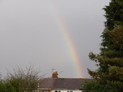 Rainbow at 15.30 over Thorpe St.Andrew today.