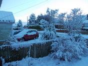 Snow in Broom Avenue,Thorpe St.Andrew.