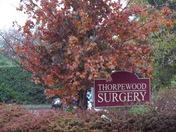 AUTUMN ARRIVES AROUND THORPEWOOD SURGERY