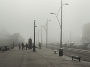 Sea Fog on Great Yarmouth Sea Front