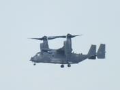 v 22 osprey over sculthorpe