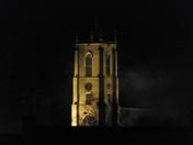 fakenham church at night