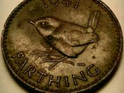 1941 Farthing Coin