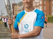 The Commonwealth Baton Arrives in Lowestoft