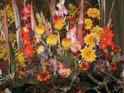Flower Festival at St Mary's Church, Somerleyton