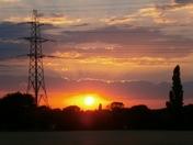 Sunset Over Belton