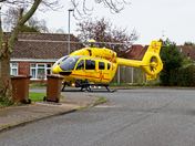 east anglian air ambulance (something yellow)