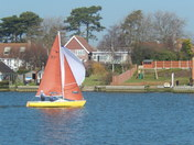 Sailing on Oulton Broad