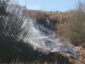 Gunton Cliff Fire
