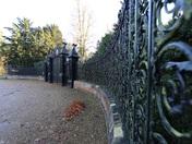Norfolk is winter at the gates ,Sandringham .