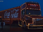 CocaCola Truck comes to Lowestoft 25/11/12