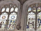doors & windows, ringland church, norfolk.