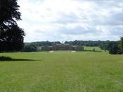 Symmetrical Holkham Hall