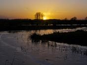 Sunsetting Buckenham Marshes