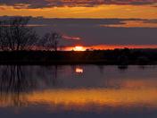Bridgham reservoir sun shots