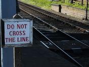 """""""Do Not Cross The Line."""""""