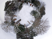 cemetry snow