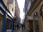 Norwich arcade and alley's