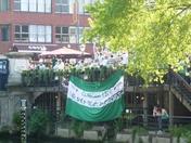 Celtic fans enjoy Norwich hospitality