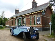 Broadland MG Owners Club 23rd Heritage Run