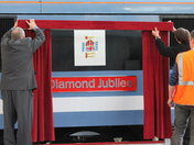 Preparations for Diamond Jubilee Train