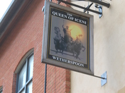 Queen of Iceni Pub Sign