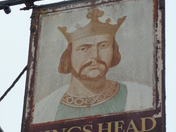 Kings Head Pub Sign