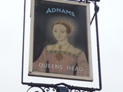 Queens Head Pub Sign