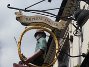 Compleat Angler Pub Sign