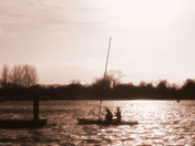 Evening at Oulton Broad