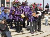 Morris Dancers at Cromer pier