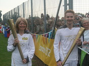 Olympic Flame Visits Hethersett