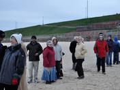 Sunrise Communion at Gorleston Easter Day 2012