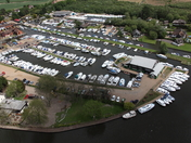 Norfolk Broads from the air
