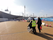 Olympics Preparation day. Stratford. 23rd Feb 2012