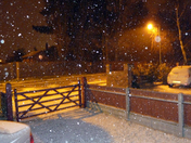 It's snowing in Sprowston