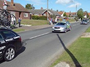 """The day """"The Tour of Britain"""" came to Mileham"""