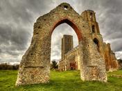 Wymondham Abbey Ruins