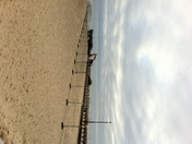 Great Yarmouth jetty demolition