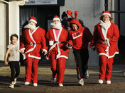 Santa Run in Downham Market