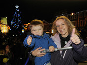 Dereham Christmas Lights Switch On